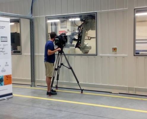 Man filming SMA